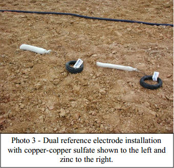 Electrode-Installation