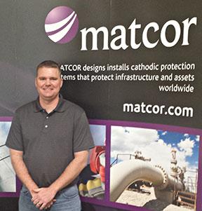 Isaac Renfro, NACE Workforce Development Program graduate and MATCOR Technician