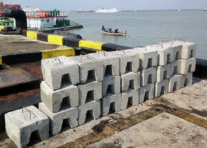 sled anode concrete weights