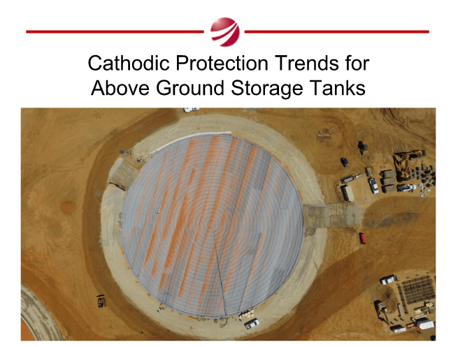 Tank Cathodic Protection Trends Above Ground Storage