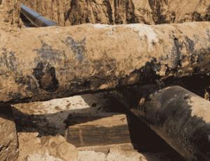 aging pipeline coating
