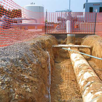 pipeline cathodic protection design for new transmission station