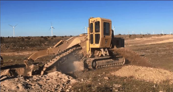 Rock Trenching | AC Mitigation Installation