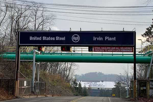 US Steel Irvin Plant