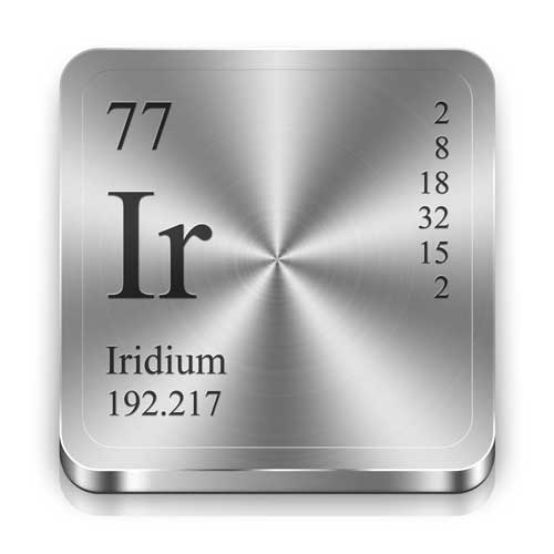 Iridium Price Increase cathodic protection