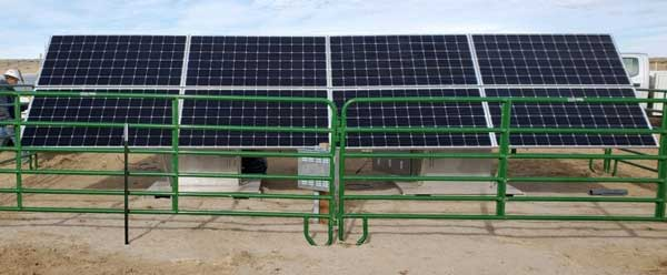 solar powered cathodic protection systems