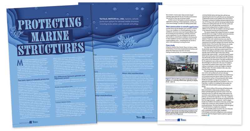 Protecting Marine Structures From Corrosion
