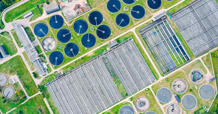 Corrosion control for water treatment facilities' tanks and vessels