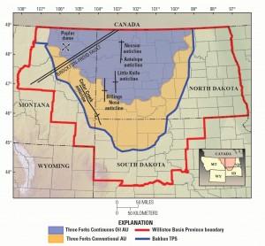 Bakken Oil Production Region